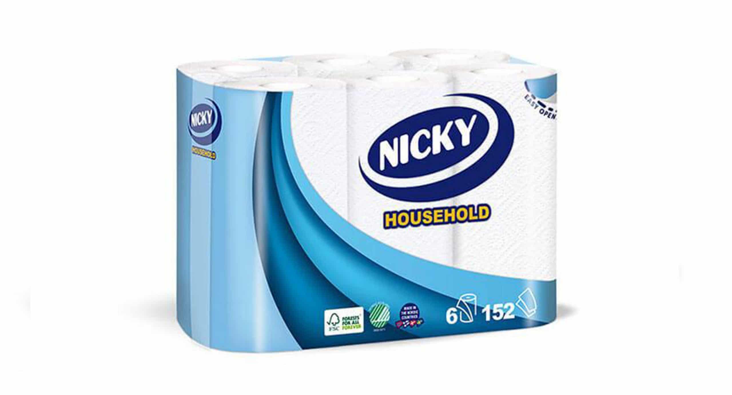 Nicky tørkepapir